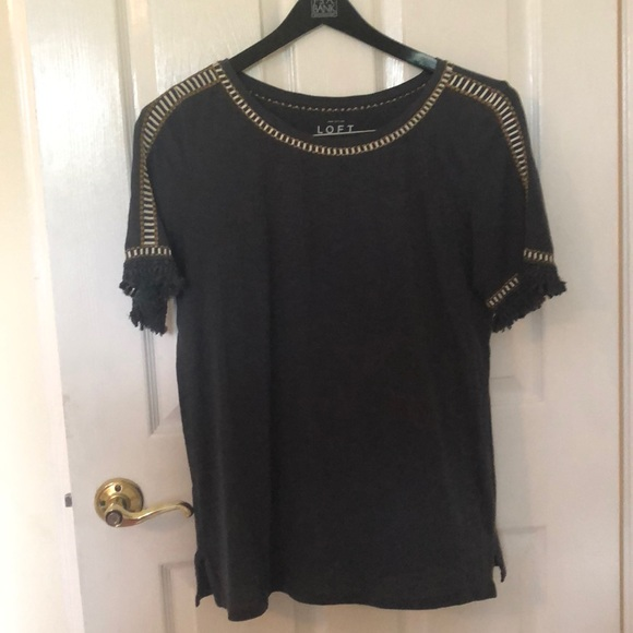 Ann Taylor Tops - Gray Blouse